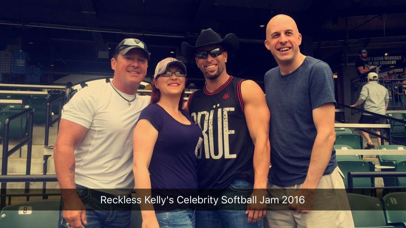 Reckless Kelly's Celebrity Softball Jam in Round Rock at Dell