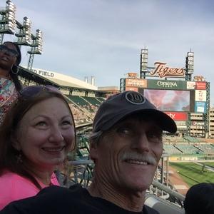 steven attended Detroit Tigers vs. Kansas City Royals - MLB on Sep 24th 2016 via VetTix