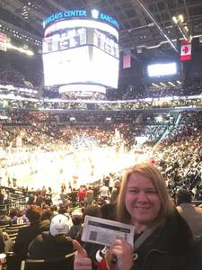 Christy attended Brooklyn Nets vs. Chicago Bulls - NBA on Oct 31st 2016 via VetTix