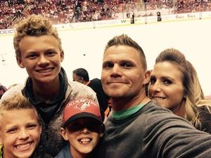 Joshua attended Arizona Coyotes vs. Philadelphia Flyers - NHL - Opening Night on Oct 15th 2016 via VetTix