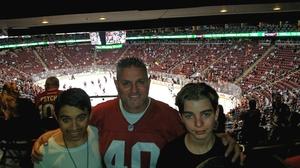 Shawn attended Arizona Coyotes vs. Philadelphia Flyers - NHL - Opening Night on Oct 15th 2016 via VetTix