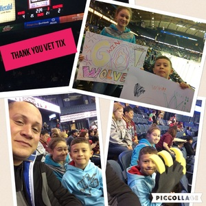 Gabriel attended Chicago Wolves vs. Cleveland Monsters - AHL - Pokemon Go Day and Post Game Autographs on Oct 30th 2016 via VetTix