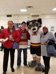 Jennifer attended Chicago Wolves vs. Cleveland Monsters - AHL - Pokemon Go Day and Post Game Autographs on Oct 30th 2016 via VetTix