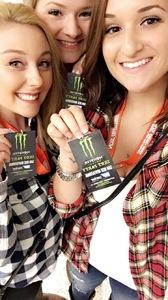 Allison attended PBR: Built Ford Tough Series on Oct 15th 2016 via VetTix