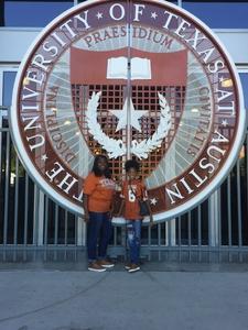 Kelvin attended University of Texas Longhorns vs. Baylor - NCAA Football on Oct 29th 2016 via VetTix