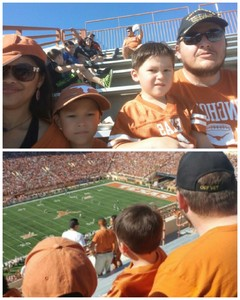 Nicholas attended University of Texas Longhorns vs. Baylor - NCAA Football on Oct 29th 2016 via VetTix