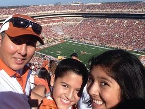 Randy attended University of Texas Longhorns vs. Baylor - NCAA Football on Oct 29th 2016 via VetTix