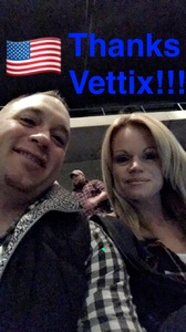 Daniel attended Chris Young - Live in Concert on Dec 3rd 2016 via VetTix