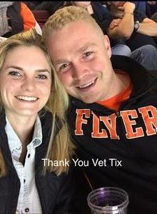 Joshua attended Philadelphia Flyers vs. Ottawa Senators - NHL on Nov 15th 2016 via VetTix