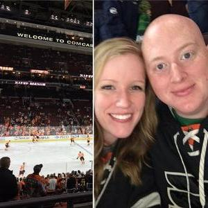 John attended Philadelphia Flyers vs. Ottawa Senators - NHL on Nov 15th 2016 via VetTix