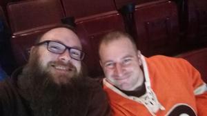 JUSTIN attended Philadelphia Flyers vs. Ottawa Senators - NHL on Nov 15th 2016 via VetTix