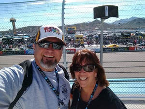 Walter attended Can-am 500 - Nascar Sprint Cup Series - Phoenix International Raceway on Nov 13th 2016 via VetTix