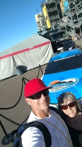 Tiny attended Can-am 500 - Nascar Sprint Cup Series - Phoenix International Raceway on Nov 13th 2016 via VetTix