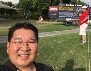 KURT attended 2017 Sony Open in Hawaii - PGA Tour at Waialae Country Club on Jan 9th 2017 via VetTix