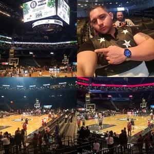 Emmanuel attended Brooklyn Nets vs. New Orleans Pelicans - NBA on Jan 12th 2017 via VetTix