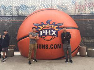 Cody attended Phoenix Suns vs. Denver Nuggets - NBA - Afternoon Game on Nov 27th 2016 via VetTix