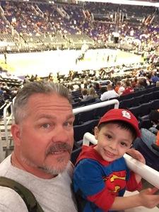 John attended Phoenix Suns vs. Denver Nuggets - NBA - Afternoon Game on Nov 27th 2016 via VetTix