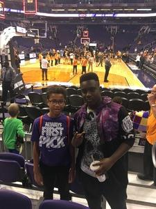 Christopher attended Phoenix Suns vs. Denver Nuggets - NBA - Afternoon Game on Nov 27th 2016 via VetTix