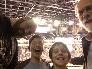 David attended Phoenix Suns vs. Denver Nuggets - NBA - Afternoon Game on Nov 27th 2016 via VetTix