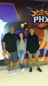 Richard attended Phoenix Suns vs. Denver Nuggets - NBA - Afternoon Game on Nov 27th 2016 via VetTix