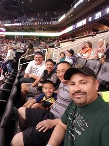 Frankie attended Phoenix Suns vs. Denver Nuggets - NBA - Afternoon Game on Nov 27th 2016 via VetTix