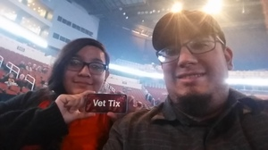 adrian attended Trans Siberian Orchestra - the Ghosts of Christmas Eve Tour on Dec 2nd 2016 via VetTix