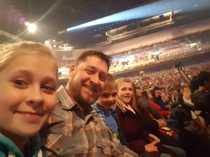 James attended Trans Siberian Orchestra - the Ghosts of Christmas Eve Tour on Dec 2nd 2016 via VetTix