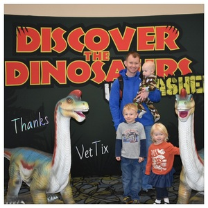 Chad attended Discover the Dinosaurs - Unleashed on Jan 21st 2017 via VetTix