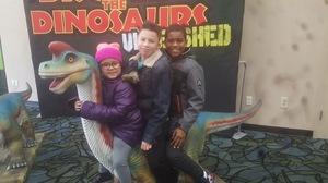 Diana attended Discover the Dinosaurs - Unleashed on Jan 21st 2017 via VetTix
