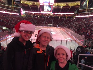 Josephine attended Arizona Coyotes vs. Calgary Flames - NHL on Dec 19th 2016 via VetTix