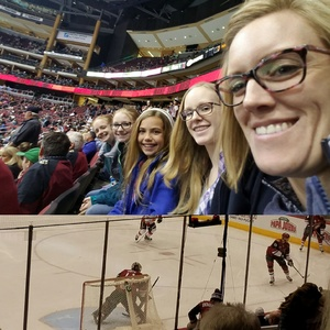 Kevin attended Arizona Coyotes vs. Calgary Flames - NHL on Dec 19th 2016 via VetTix