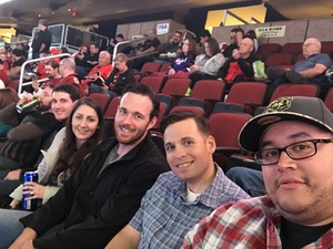 Sergio attended Arizona Coyotes vs. Calgary Flames - NHL on Dec 19th 2016 via VetTix