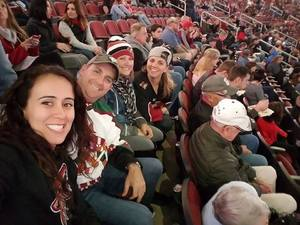 David attended Arizona Coyotes vs. Calgary Flames - NHL on Dec 19th 2016 via VetTix