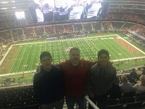 G MICHAEL attended Cotton Bowl Classic - Western Michigan Broncos vs. Wisconsin Badgers - NCAA Football on Jan 2nd 2017 via VetTix