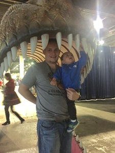 Joshua attended Discover the Dinosaurs - Unleashed on Jan 14th 2017 via VetTix