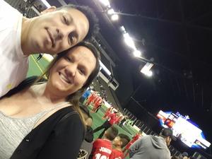 Douglas attended Chicago Mustangs vs. Harrisburg Heat - MASL - Major Arena Soccer League on Jan 21st 2017 via VetTix