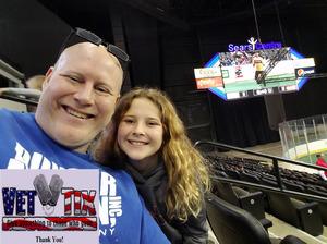 Jamie attended Chicago Mustangs vs. Harrisburg Heat - MASL - Major Arena Soccer League on Jan 21st 2017 via VetTix