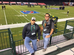 Kevin attended Motel 6 Cactus Bowl - Baylor Bears vs. Boise State Broncos - NCAA Football on Dec 27th 2016 via VetTix