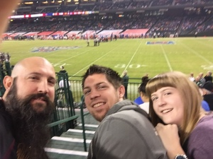 Jeremy E. attended Motel 6 Cactus Bowl - Baylor Bears vs. Boise State Broncos - NCAA Football on Dec 27th 2016 via VetTix