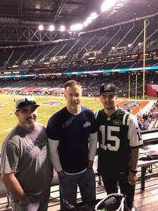 Chadrick attended Motel 6 Cactus Bowl - Baylor Bears vs. Boise State Broncos - NCAA Football on Dec 27th 2016 via VetTix