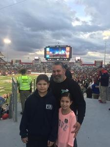 Brandon attended Motel 6 Cactus Bowl - Baylor Bears vs. Boise State Broncos - NCAA Football on Dec 27th 2016 via VetTix