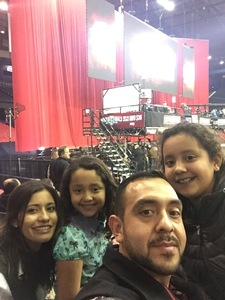 bernardo attended PBR - Chicago Invitational - Friday on Jan 13th 2017 via VetTix