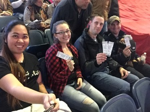 FC1 Pankonien, Dustin attended PBR - Chicago Invitational - Friday on Jan 13th 2017 via VetTix