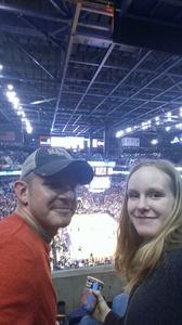 Kevin attended Phoenix Suns vs. Miami Heat - NBA on Jan 3rd 2017 via VetTix