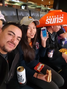 Alejandro attended Phoenix Suns vs. Miami Heat - NBA on Jan 3rd 2017 via VetTix