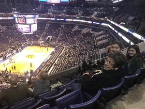 Nora attended Phoenix Suns vs. Miami Heat - NBA on Jan 3rd 2017 via VetTix