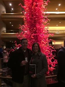 Chad attended Tristan and Isolde - Presented by the Utah Symphony on Jan 13th 2017 via VetTix