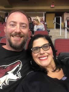 Steve attended Arizona Coyotes vs. New York Islanders - NHL - All Tickets in Lower Level on Jan 7th 2017 via VetTix