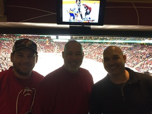 Robert attended Arizona Coyotes vs. New York Islanders - NHL - All Tickets in Lower Level on Jan 7th 2017 via VetTix