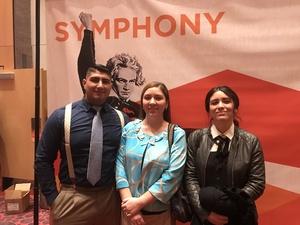 Atom attended Bosendorfer Piano Competition on Jan 8th 2017 via VetTix